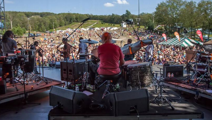 Les Brers at Peach Fest 2015