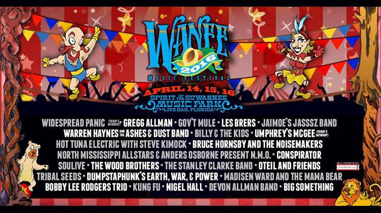 Wanee Festival 2016 Lineup Announcement