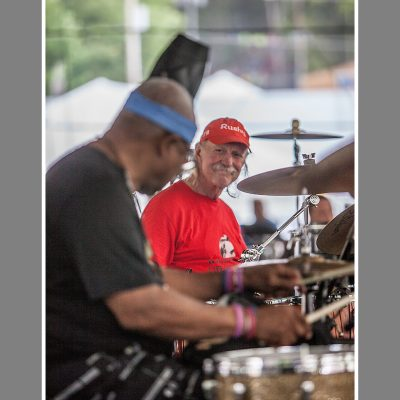Jaimoe and Butch at Peach Festival 2016 - photo by Derek McCabe Photography