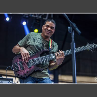 Oteil Burbridge at the Peach Festival 2016 - photo by Derek McCabe Photography