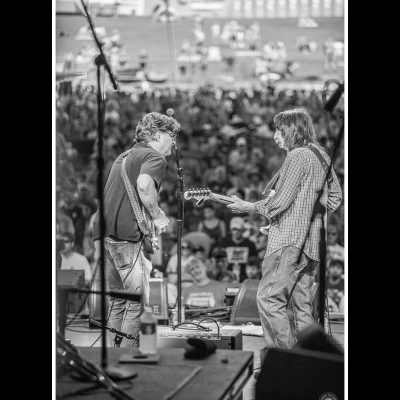 Pat Bergeson and Jack Pearson at Peach Festival 2016 - photo by Derek McCabe Photography